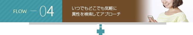 flow04 独身限定ソーシャルアプリ『Face Scene』